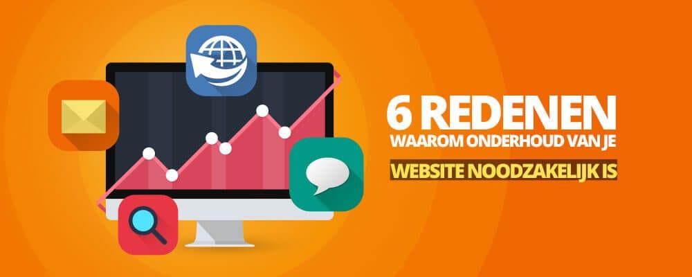 Website onderhoud Wordpress
