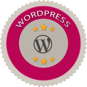WordPress-badge