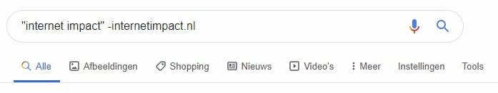 Google selector