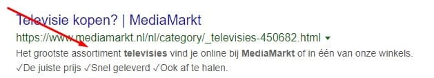 mediamarkt google serp snippet