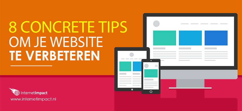 tips verbeteren website