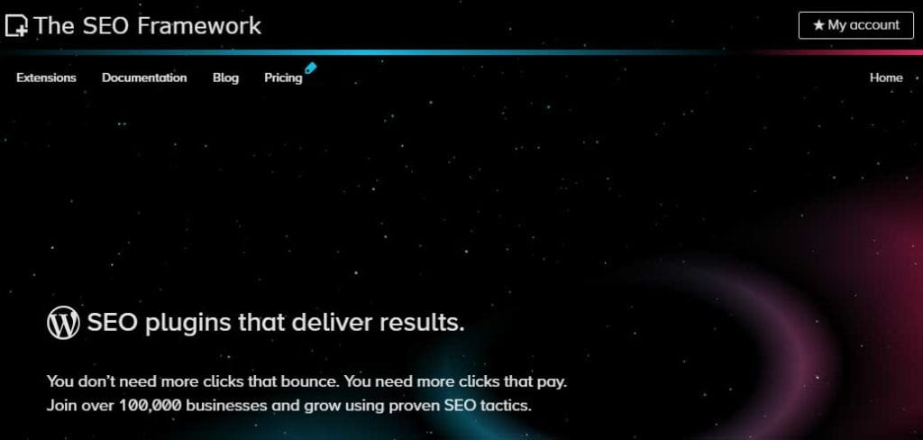 The Seo Framework Black Friday Deal
